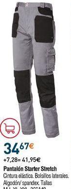 Oferta de Pantalones de trabajo por 34,67€