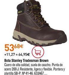 Oferta de Botas de seguridad por 53,68€