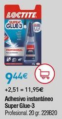 Oferta de Adhesivos Loctite por 9,44€