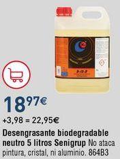 Oferta de Desengrasante para suelos por 18,97€