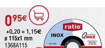 Oferta de Discos de corte Ratio por 0,95€