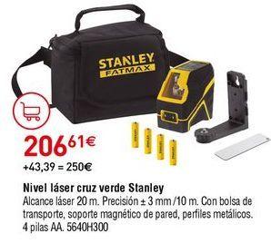 Oferta de Nivel láser Stanley por 206,61€