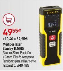 Oferta de Medidor láser Stanley por 49,55€