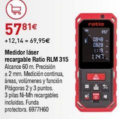 Oferta de Medidor láser Ratio por 57,81€