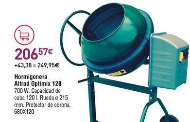 Oferta de Hormigonera por 260,57€