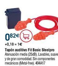 Oferta de Protectores auditivos por 0,82€