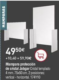 Oferta de Mampara frontal corredera por 49,5€