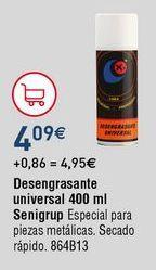 Oferta de Desengrasante para coche por 4,09€