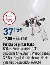 Oferta de Pistola de pintura por 37,15€