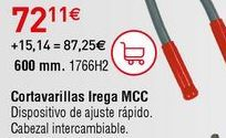 Oferta de Cortavarillas por 72,11€
