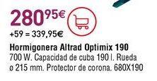 Oferta de Hormigonera por 280,95€