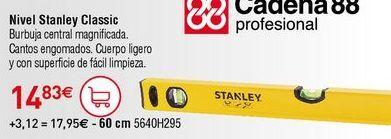 Oferta de Nivel de burbuja Stanley por 14,83€