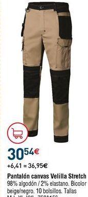 Oferta de Pantalones multibolsillos por 30,54€
