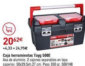 Oferta de Caja de herramientas tayg por 20,62€