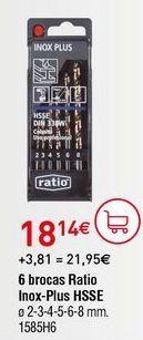 Oferta de Brocas por 18,14€