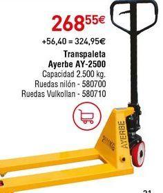 Oferta de Carretillas por 268,55€