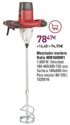 Oferta de Mezclador de pintura por 78,47€