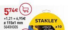Oferta de Discos de corte Stanley por 5,74€