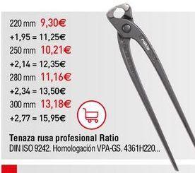 Oferta de Tenazas por 9,3€