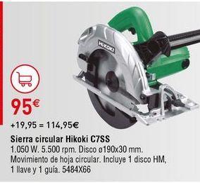 Oferta de Sierra circular por 95€