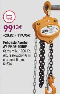 Oferta de Polipasto por 99,13€