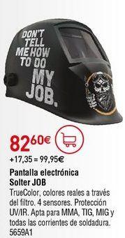 Oferta de Pantalla de soldador por 82,6€