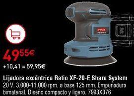 Oferta de Lijadora Ratio por 49,55€