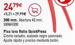 Oferta de Herramientas Ratio por 24,79€