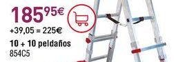 Oferta de Escalera por 195,95€