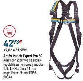 Oferta de Arnés de seguridad por 42,93€
