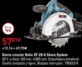 Oferta de Sierra circular por 57,81€