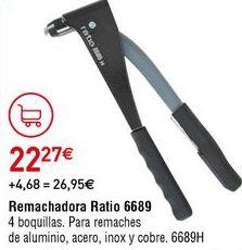 Oferta de Remachadora por 22,27€