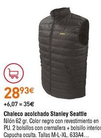 Oferta de Chaleco por 28,93€