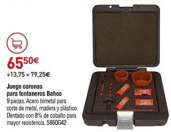 Oferta de Corona perforadora por 65,5€