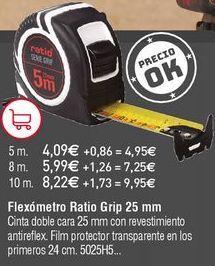 Oferta de Flexómetro Ratio por 4,09€