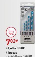 Oferta de Brocas por 7,02€