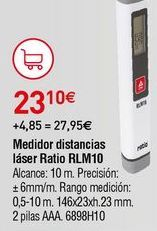 Oferta de Medidor de distancias Ratio por 23,1€