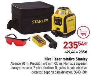 Oferta de Nivel láser Stanley por 235,54€