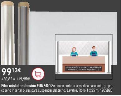 Oferta de Film transparente por 99,13€