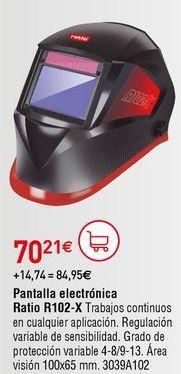 Oferta de Pantalla de soldador por 70,21€