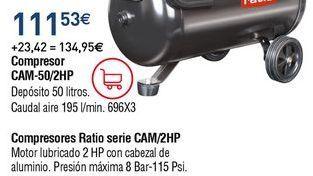Oferta de Compresor de aire por 111,53€