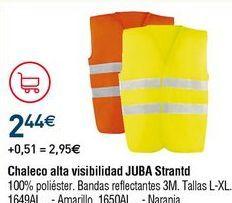 Oferta de Chaleco reflectante por 2,44€