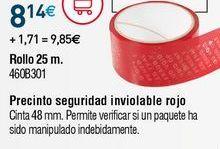Oferta de Precinto por 8,14€