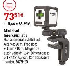 Oferta de Nivel láser Ratio por 73,51€