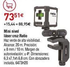 Oferta de Nivel láser Ratio por 73,51€