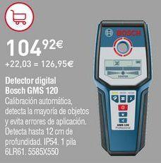 Oferta de Detector digital Bosch por 104,92€
