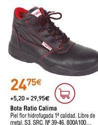 Oferta de Botas de seguridad por 24,75€