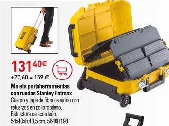 Oferta de Maletín de herramientas Stanley por 131,4€