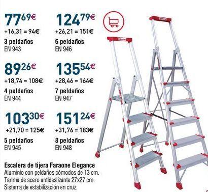 Oferta de Escalera por 77,69€
