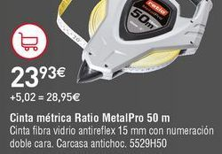 Oferta de Cinta métrica Ratio por 23,93€